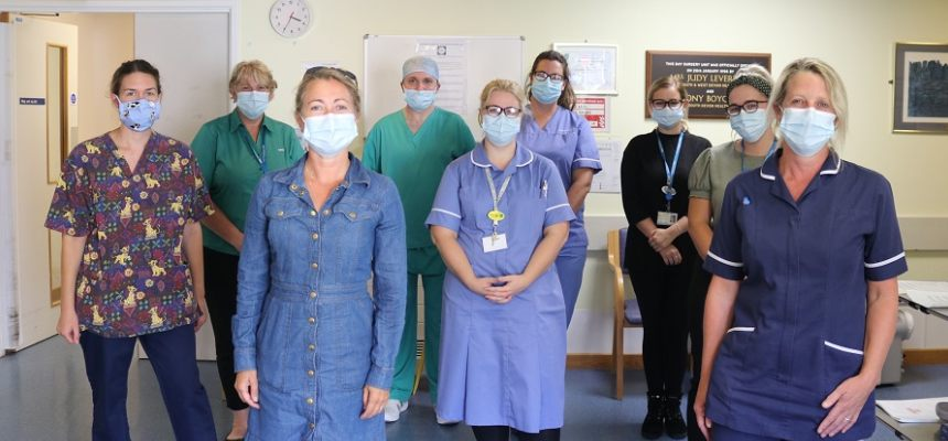Staff at the Day Surgery Unit