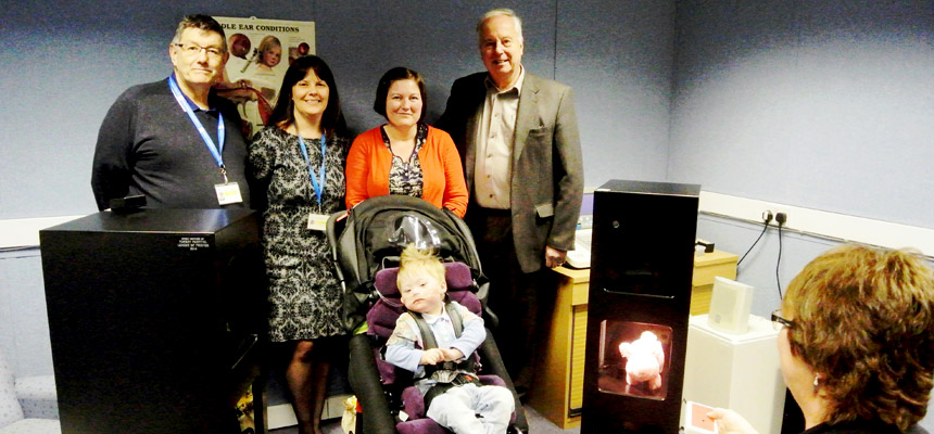 League donation means more accurate hearing test results for children