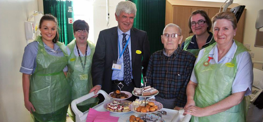 Patients enjoy Worldwide Afternoon Tea