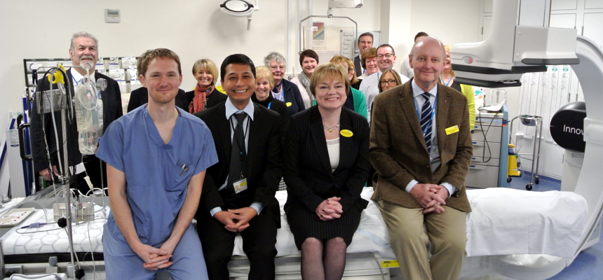 Official opening of enhanced cardiac suite