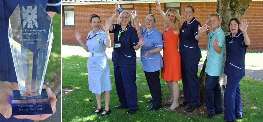 Staff from the Dermatology Team