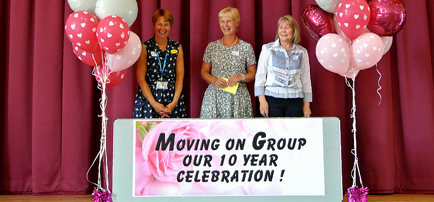 Moving On – 10 year anniversary for Breast Cancer rehab group