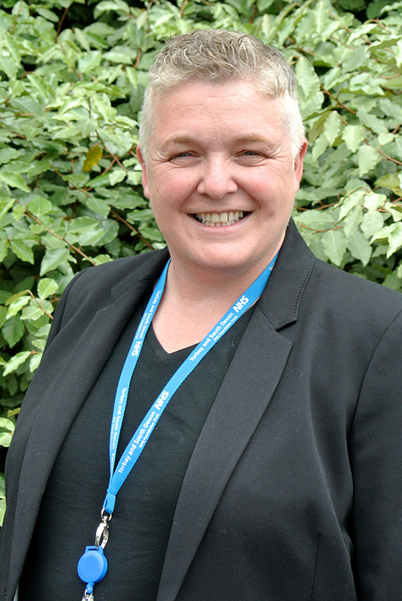 Associate Director for Social Care, Jo Williams
