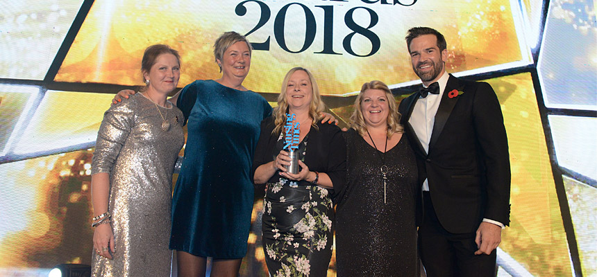 National award for CAMHS team