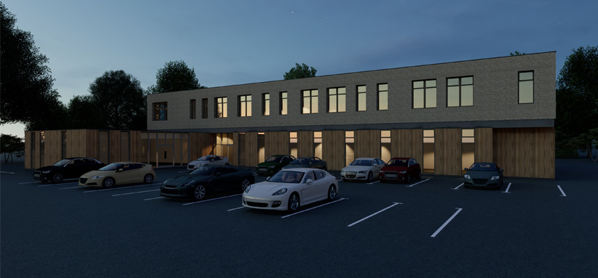 Image: Dartmouth Health and Wellbeing Centre design