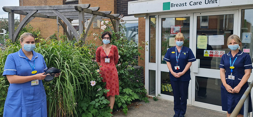 Photo: Breast Care Unit staff involved in the HoloLens 2 pilot