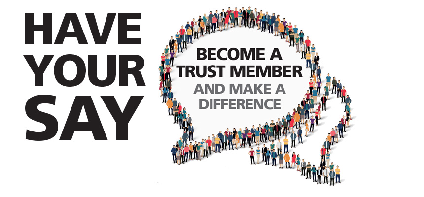Become a Trust member