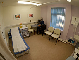 Breast Care Unit consultation room