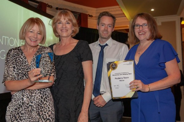Winner Prevention and Staying Well Sarah Levio and Podiatry Team