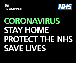 Image: Coronavirus: stay home, protect the NHS, save lives