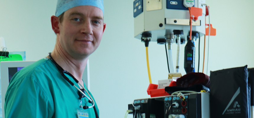 Dr Will Key - Consultant anaesthetist