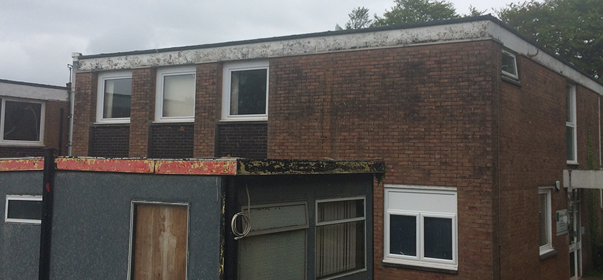 condition of buildings at Torbay Hospital