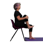 PhysiYo - Sitting hip and knee flexion side