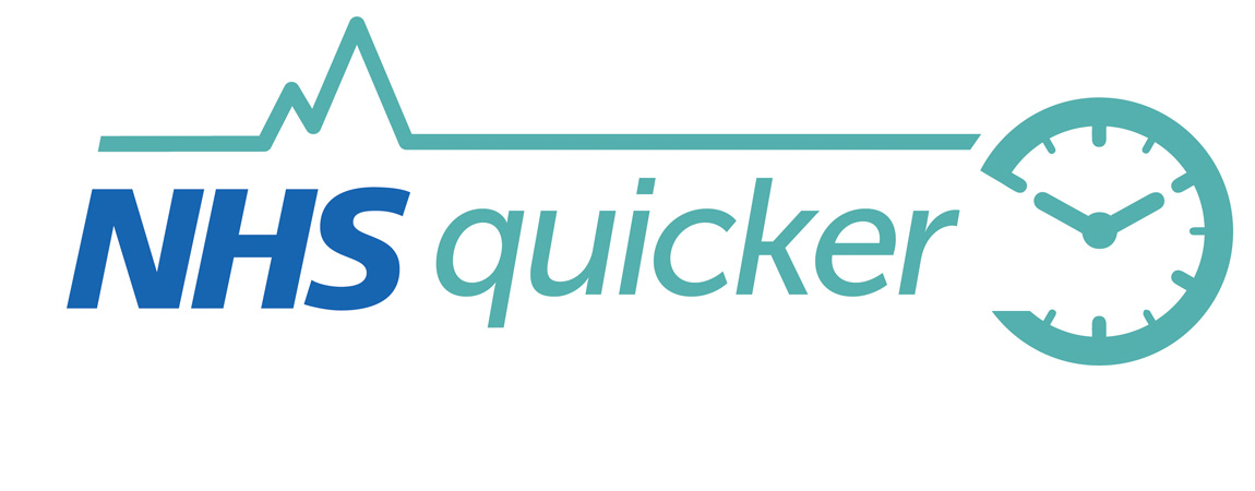 Image result for NHS Quicker logo