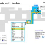 Torbay Hospital Level 1 map