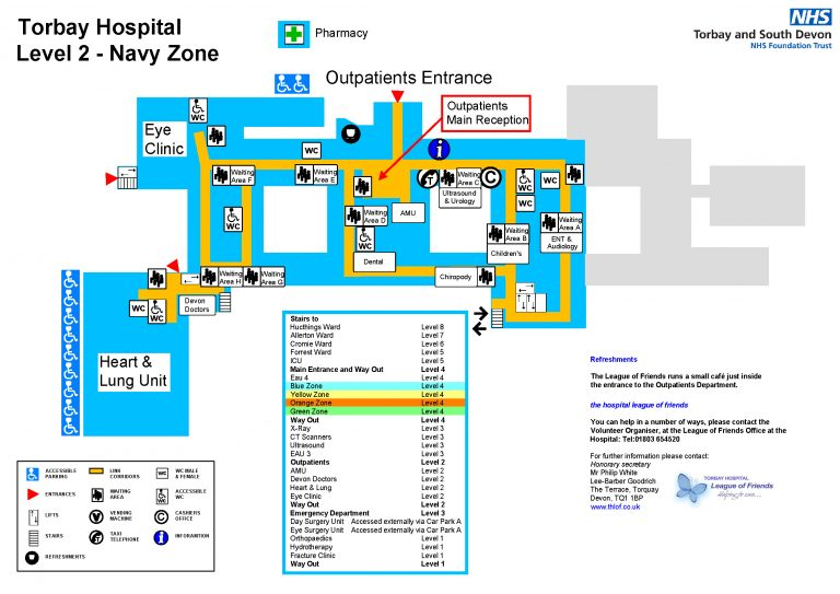 Torbay Hospital Maps Torbay And South Devon Nhs